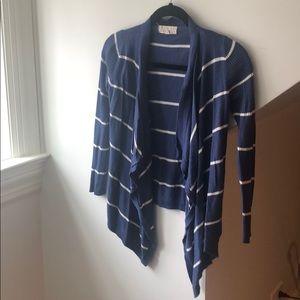 Girls open cardigan sweater